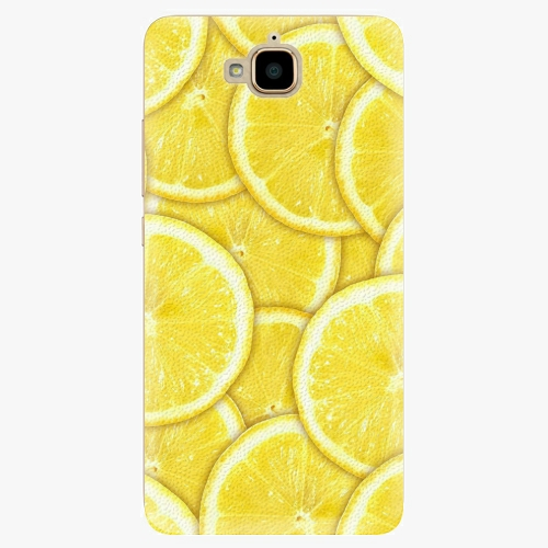 Plastový kryt iSaprio - Yellow - Huawei Y6 Pro
