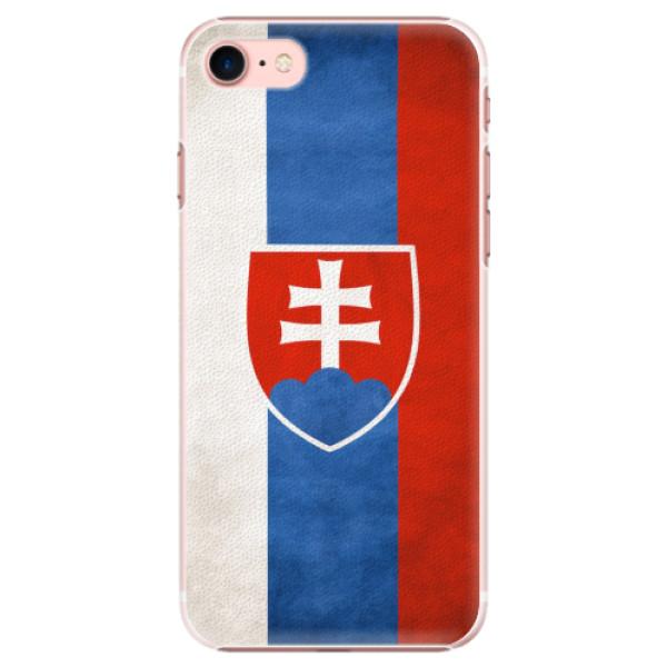 Plastové pouzdro iSaprio - Slovakia Flag - iPhone 7