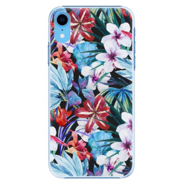 Plastové pouzdro iSaprio - Tropical Flowers 05 - iPhone XR