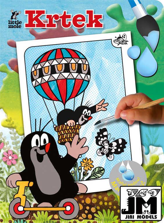 JIRI MODELS Omalovánky Maluj vodou! Krtek (Krteček) Létající balon