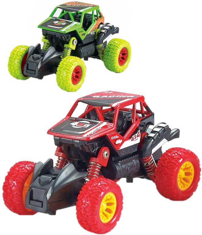 Auto Monster Car 1:46 zpětný chod velká kola 2 druhy kov