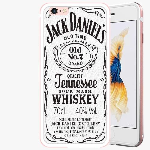 Plastový kryt iSaprio - Jack White - iPhone 6 Plus/6S Plus - Rose Gold