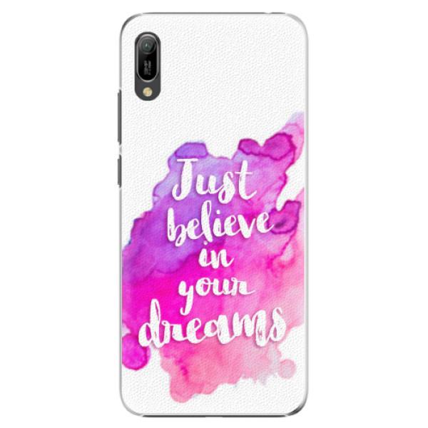 Plastové pouzdro iSaprio - Believe - Huawei Y6 2019