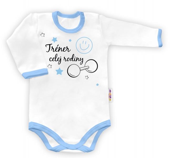 Baby Nellys Body dlouhý rukáv vel. 8686 (12-18m)