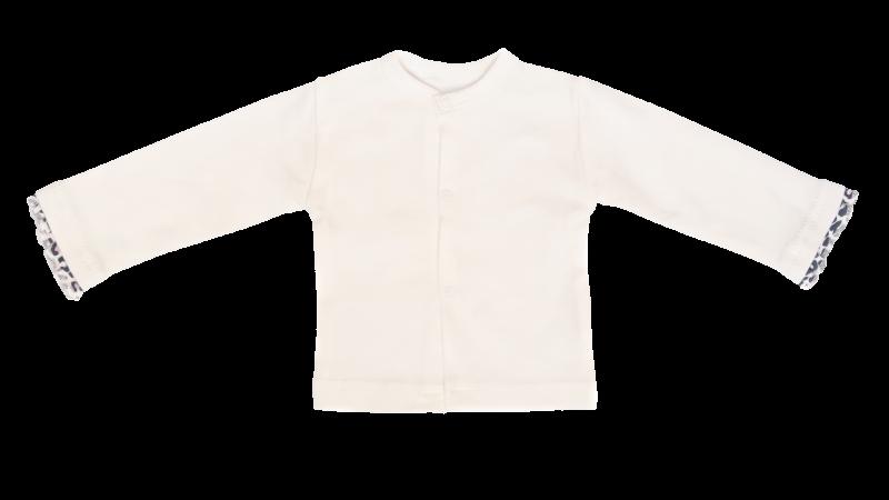 mamatti-novozenecka-bavlnena-kosilka-kabatek-gepardik-bila-vel-68-68-4-6m