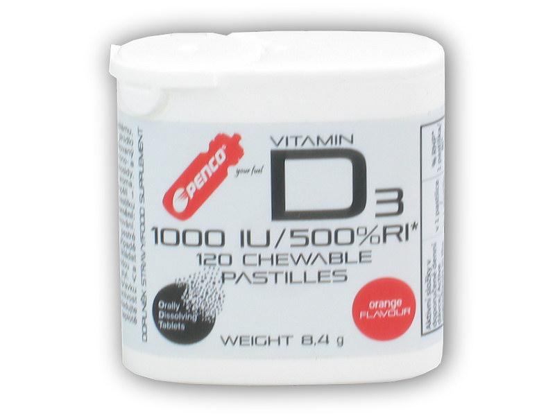 Vitamín D3 120 tablet