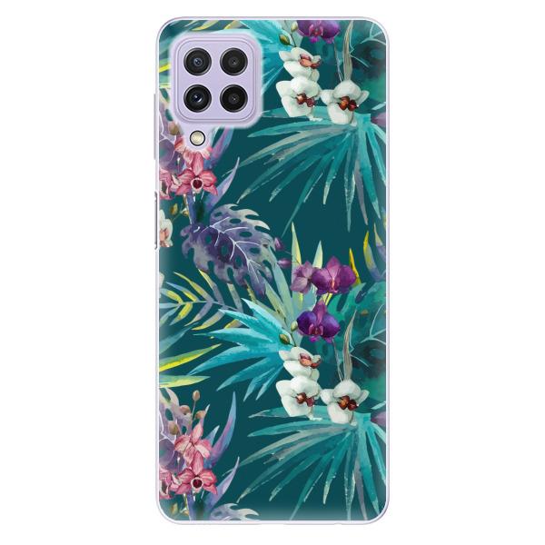 Odolné silikonové pouzdro iSaprio - Tropical Blue 01 - Samsung Galaxy A22