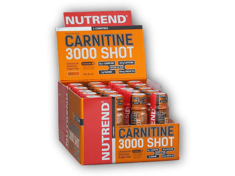 Carnitine 3000 Shot 20x60ml ampule - akce-ananas
