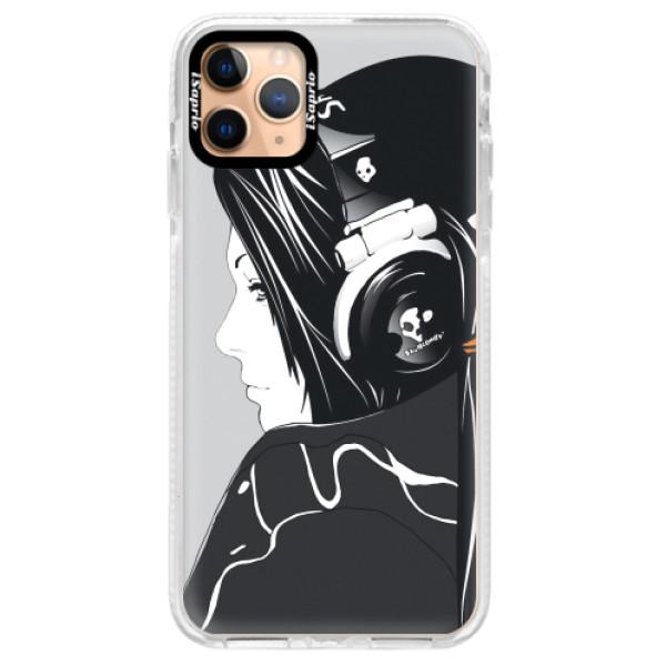 Silikonové pouzdro Bumper iSaprio - Headphones - iPhone 11 Pro Max