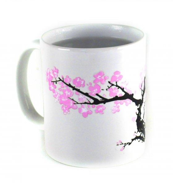 Kouzelný hrneček s třešňovým květem