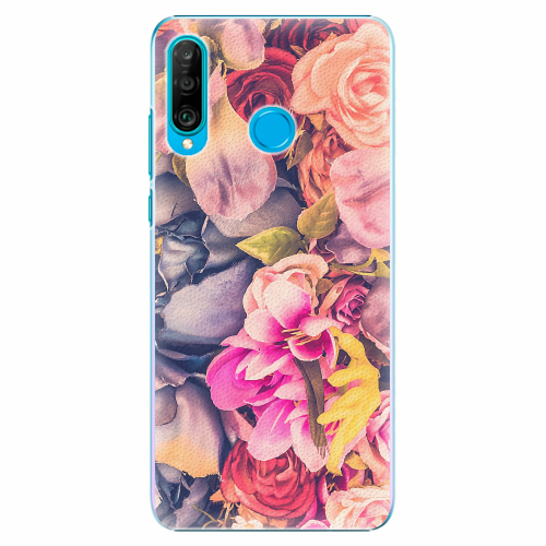 Plastový kryt iSaprio - Beauty Flowers - Huawei P30 Lite