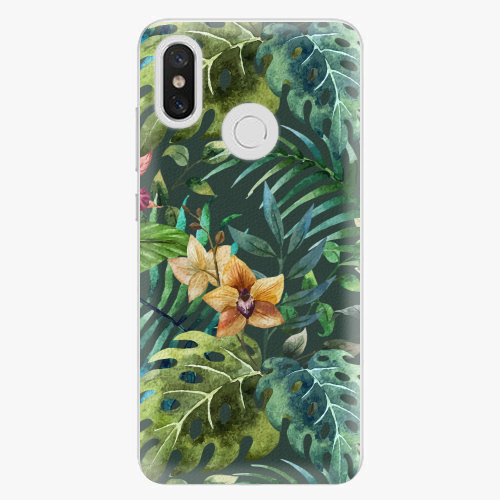 Plastový kryt iSaprio - Tropical Green 02 - Xiaomi Mi 8