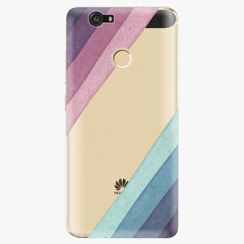 Plastový kryt iSaprio - Glitter Stripes 01 - Huawei Nova