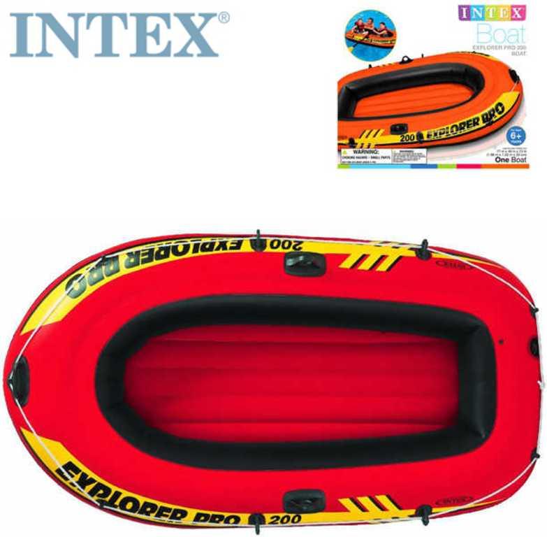 INTEX Člun nafukovací Explorer Pro 200 na vodu 196x102x33cm 58355