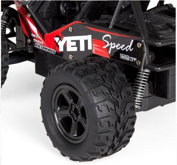 YETI 2WD - 21cm - 20km/h - červený