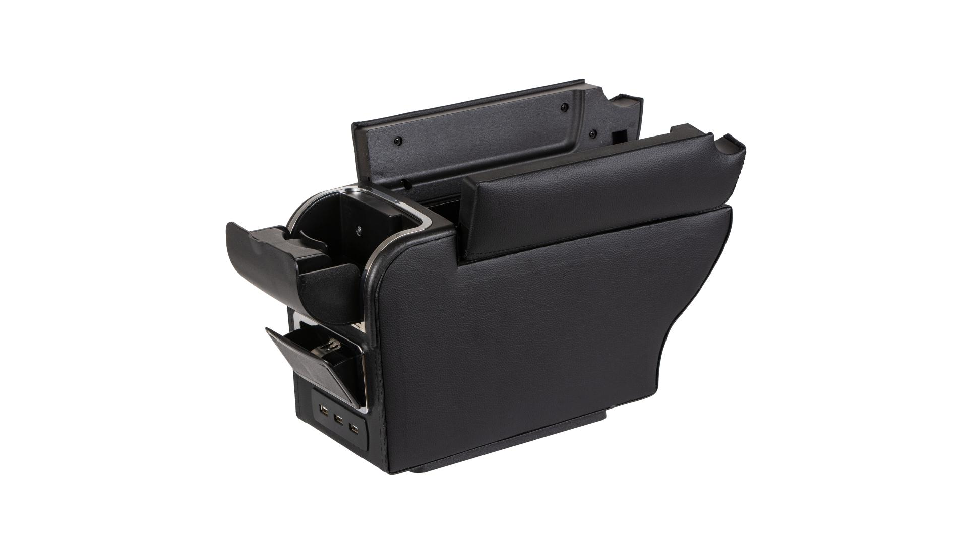 4CARS Console box with USB ports