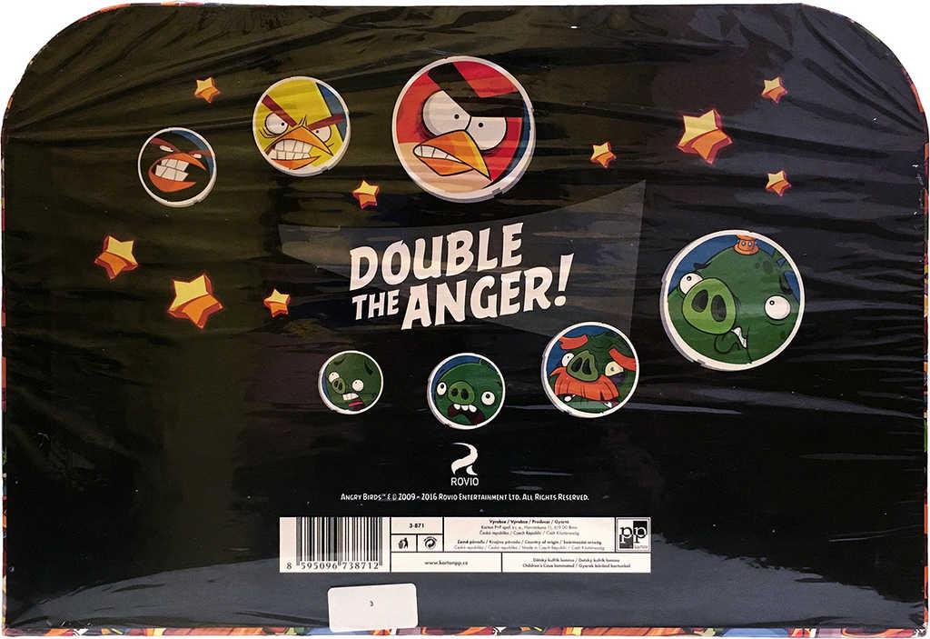 KAZETO Kufr Angry Birds velký kufřík