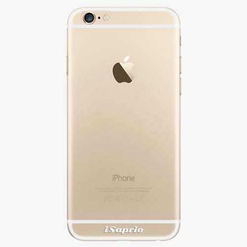 Silikonové pouzdro iSaprio - 4Pure - průhledný matný - iPhone 6/6S