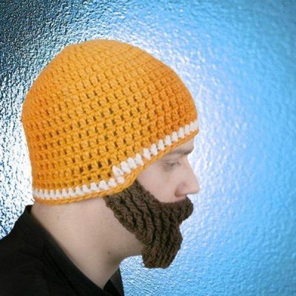 Beardo - Čepice s vousy