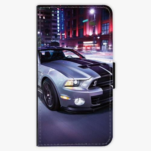 Flipové pouzdro iSaprio - Mustang - Samsung Galaxy J7 2016