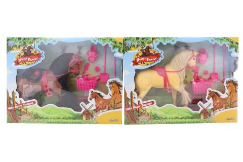 Kůň s doplňky