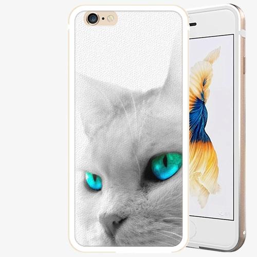 Plastový kryt iSaprio - Cats Eyes - iPhone 6 Plus/6S Plus - Gold