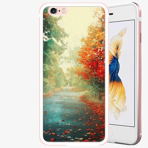 Plastový kryt iSaprio - Autumn 03 - iPhone 6 Plus/6S Plus - Rose Gold