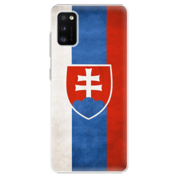 Plastové pouzdro iSaprio - Slovakia Flag - Samsung Galaxy A41