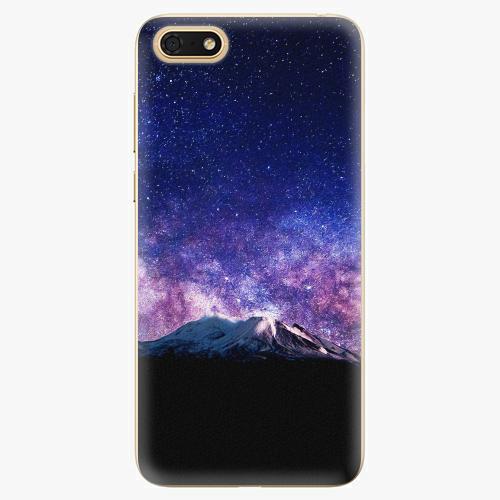 Silikonové pouzdro iSaprio - Milky Way - Huawei Honor 7S
