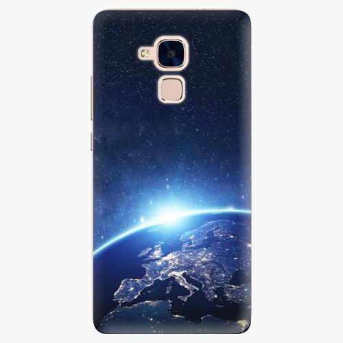 Plastový kryt iSaprio - Earth at Night - Huawei Honor 7 Lite