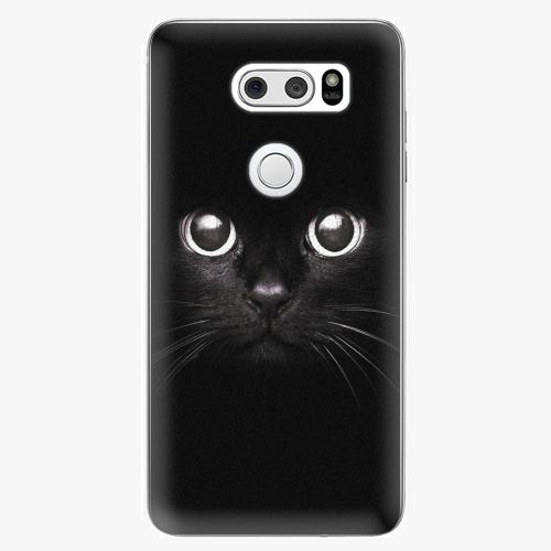 Plastový kryt iSaprio - Black Cat - LG V30