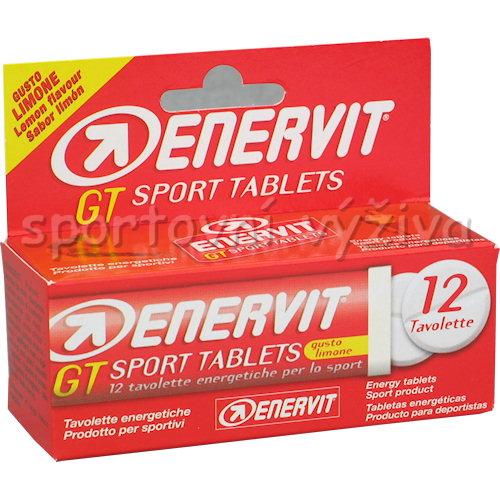 Enervit GT 12 tablet tuba citron