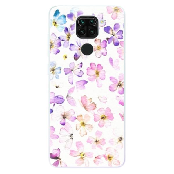 Odolné silikonové pouzdro iSaprio - Wildflowers - Xiaomi Redmi Note 9