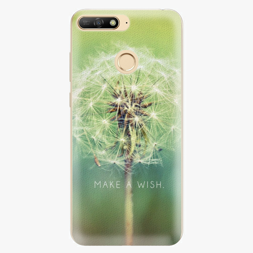 Plastový kryt iSaprio - Wish - Huawei Y6 Prime 2018