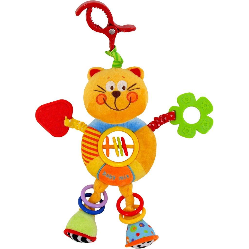 Dětská plyšová hračka s chrastítkem Baby Mix