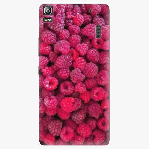 Plastový kryt iSaprio - Raspberry - Lenovo A7000