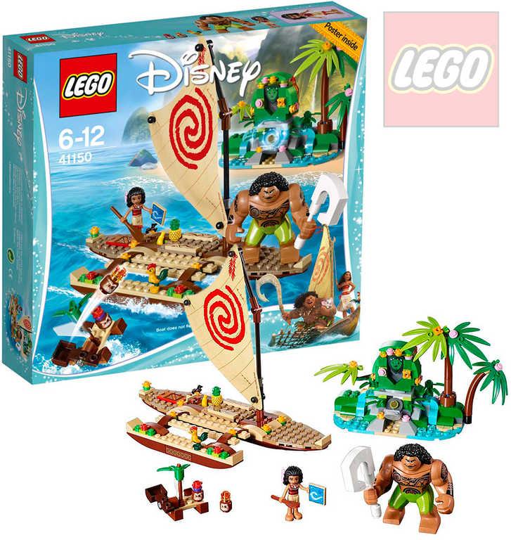 LEGO PRINCESS Vaiana a její plavba po oceánu 41150 STAVEBNICE