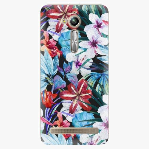 Plastový kryt iSaprio - Tropical Flowers 05 - Asus ZenFone Go ZB500KL