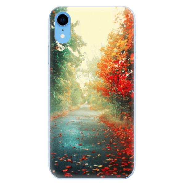 Odolné silikonové pouzdro iSaprio - Autumn 03 - iPhone XR
