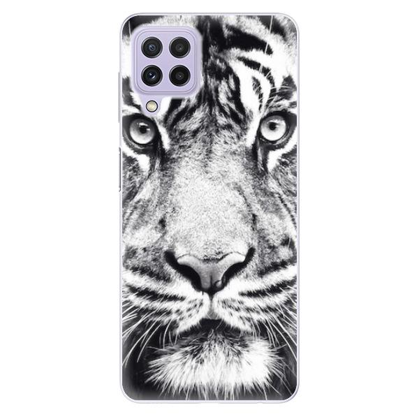 Odolné silikonové pouzdro iSaprio - Tiger Face - Samsung Galaxy A22