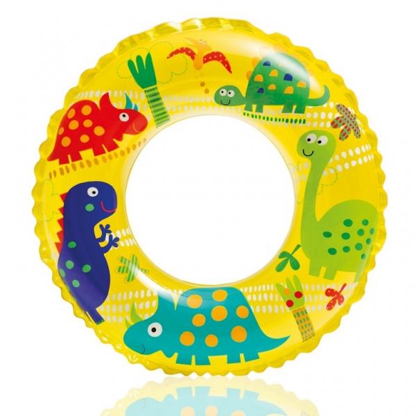 Nafukovací kruh vodní svět, 3 druhy, 61 cm, 6-10 let