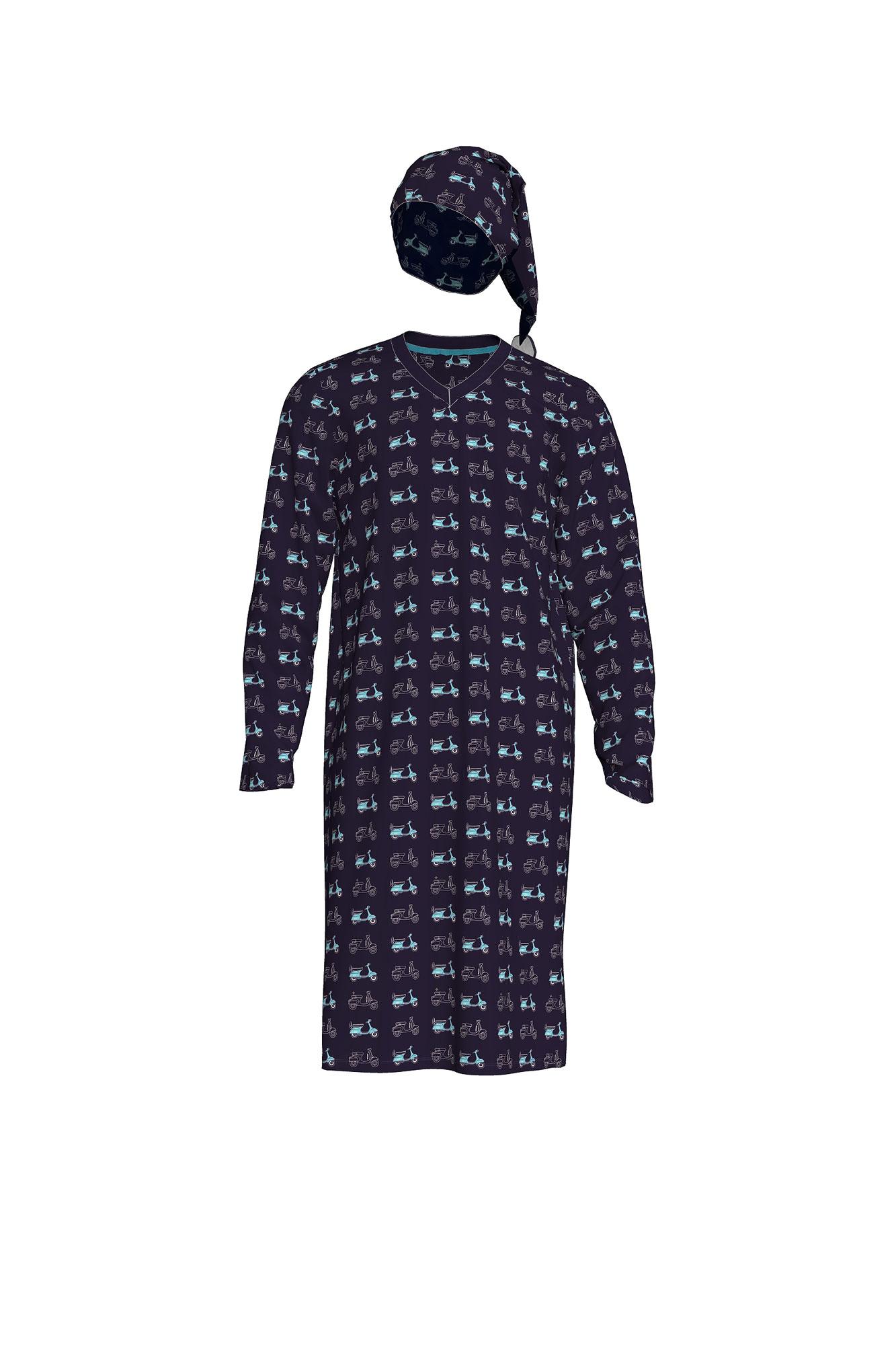 Pánské noční košile 00-15-7368 - Vamp