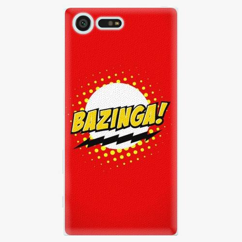 Plastový kryt iSaprio - Bazinga 01 - Sony Xperia X Compact