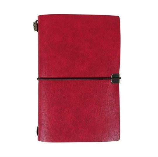 Luxusní diáře - Červený luxusní diář
