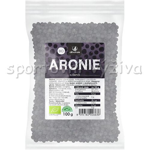 Allnature BIO Aronie černý Jeřáb 100g