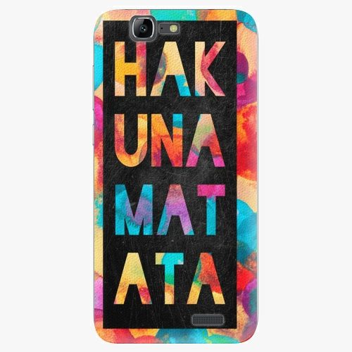 Plastový kryt iSaprio - Hakuna Matata 01 - Huawei Ascend G7