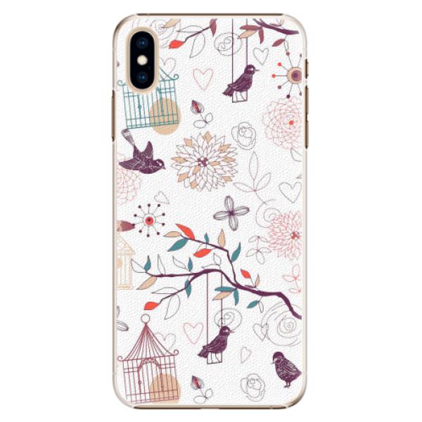 Plastové pouzdro iSaprio - Birds - iPhone XS Max