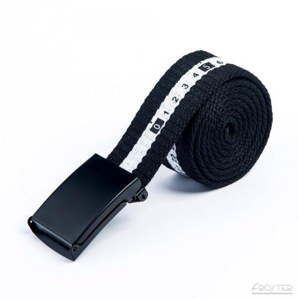 Měřící pásek - Černobílý