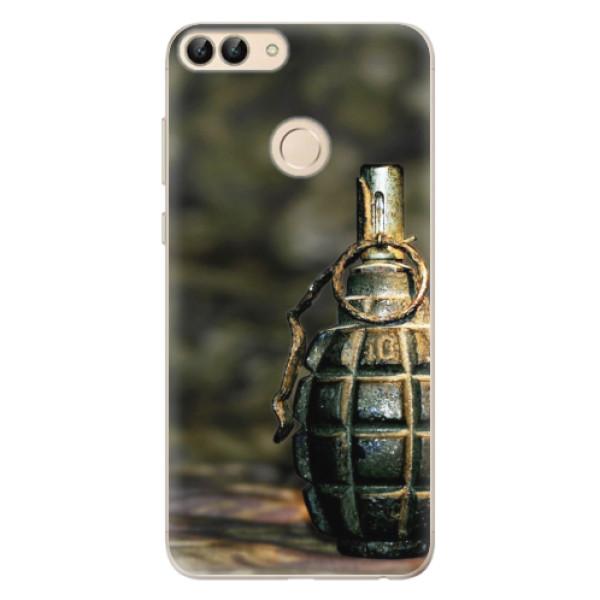 Odolné silikonové pouzdro iSaprio - Grenade - Huawei P Smart