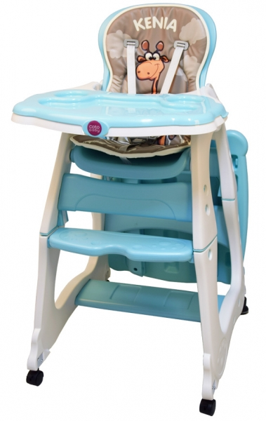 Jídelní židlička Kenia 2018 - tyrkysová/mint